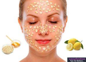 Beneficios de la mascarilla de avena con limón