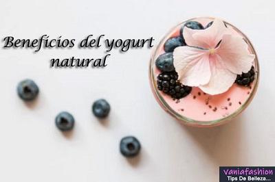 beneficios del yogurt natural en la piel