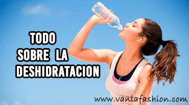 todo sobre la deshidratacion