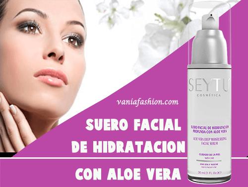 Suero Facial de Hidratación Profunda Con Aloe Vera