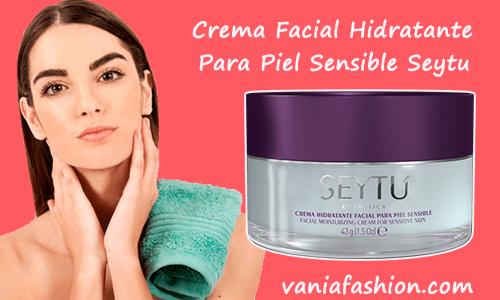 Crema Facial Hidratante para Piel Sensible Seytu